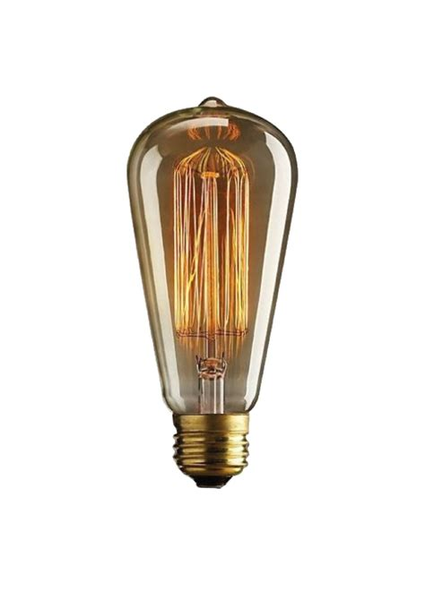 teardrop filament bulb