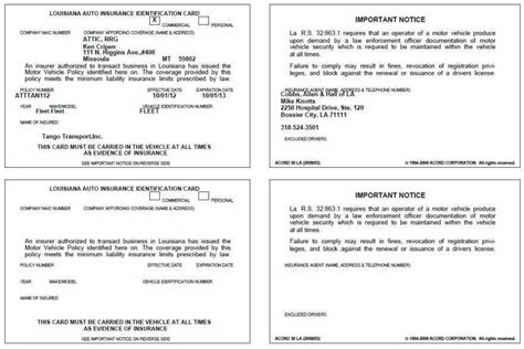proof of insurance templates proof of auto insurance template free shatterlion info