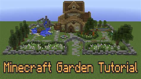 improve  minecraft garden youtube