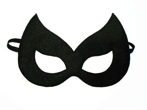 Marvel Black Cat Mask Template by Felt Mask 2 Years Size Black Cat