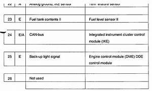 I Need The Wiring Diagram For A 1999 Bmw 740i Instrument