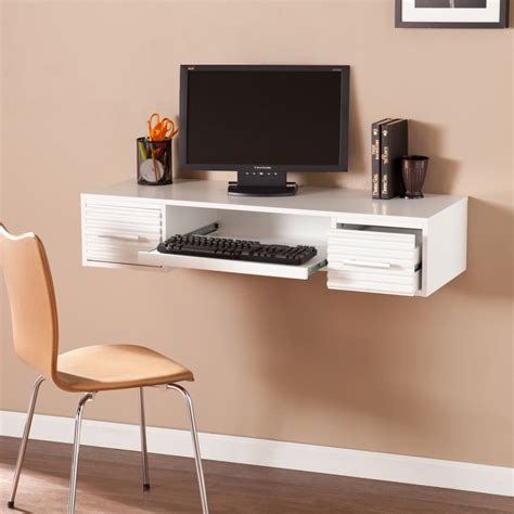 white wall mounted desk simon wall mount desk white desks home office shop