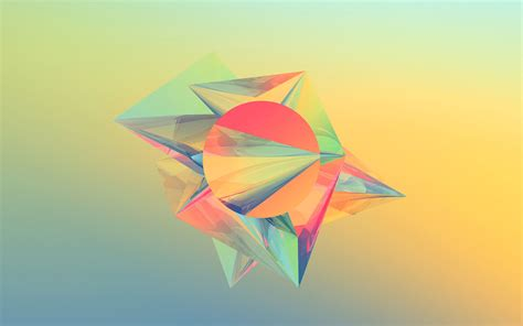 Abstract Cool Geometric Shapes by Simple Shapes Wallpaper 74 Images