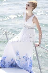 beachy wedding dress stylish colored wedding dresses for the for bridal look sangmaestro