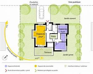 plan de maison sans toit evtod With maison bois toit plat 3 plan maison 224 etage et 224 toit plat ooreka