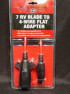 Trailer Wiring Adapter 7 Rv Blade Round To 4 Wire Flat 3