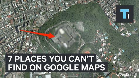 Can T Find A by 7 Places You Can T Find On Maps