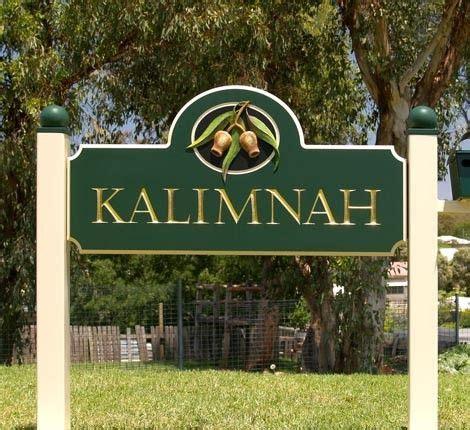 kalimnah property sign danthonia designs property