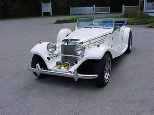1936 Mercedes 540k 4 seater Baron, with Mustang II V6, auto. power brakes & steering, real wire ...