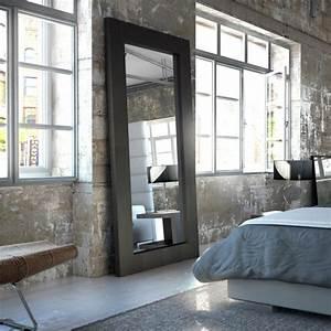 Maison Du Monde Miroir Industriel : grand miroir la classique perdue qui fait vivre l 39 espace ~ Teatrodelosmanantiales.com Idées de Décoration