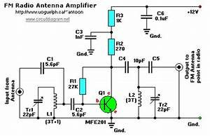Fm Radio Antenna Booster Circuit Diagram