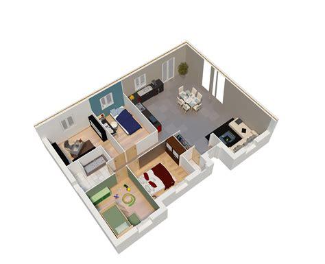 plan de maison avec cuisine ouverte offre terrain maison natilia quimper