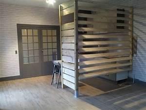Cloisons amovibles castorama gallery of porte intrieure for Porte de garage et bloc porte style atelier