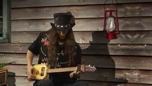 Justin Johnson Plays The Cigar Box Guitar  Part 1