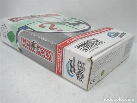 ¡juega online a monopoly junior, monopoly 3d y a muchos otros juegos de monopoly! juego monopoly - juego viaje - parker hasbro añ - Comprar Juegos de mesa antiguos en ...