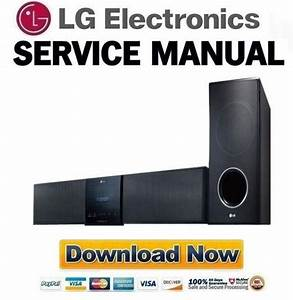 Lg Hlt35w Sound Bar Service Manual And Repair Guide