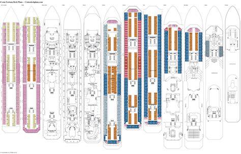 Costa Fortuna Cabine Costa Fortuna Deck Plans Diagrams Pictures