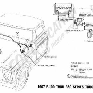 1968 Ford F 250 Starter Wiring Diagram