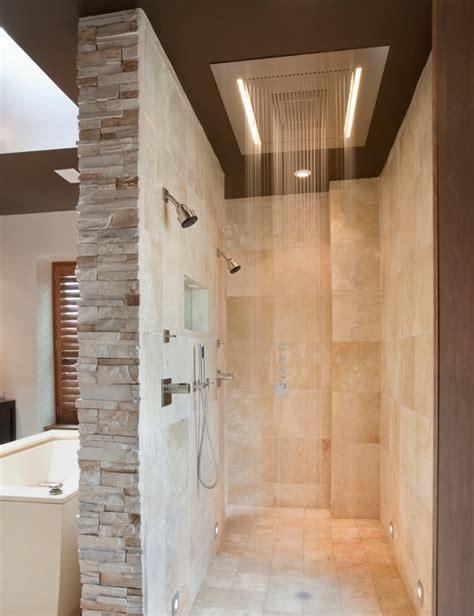 open shower bathroom design doorless shower designs teach you how to go with the flow