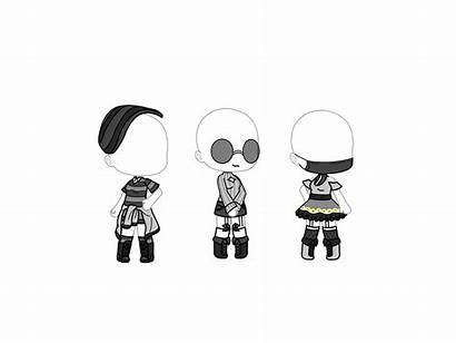 Gacha Outfit Gray Outfits Drawings Lobos Dibujo