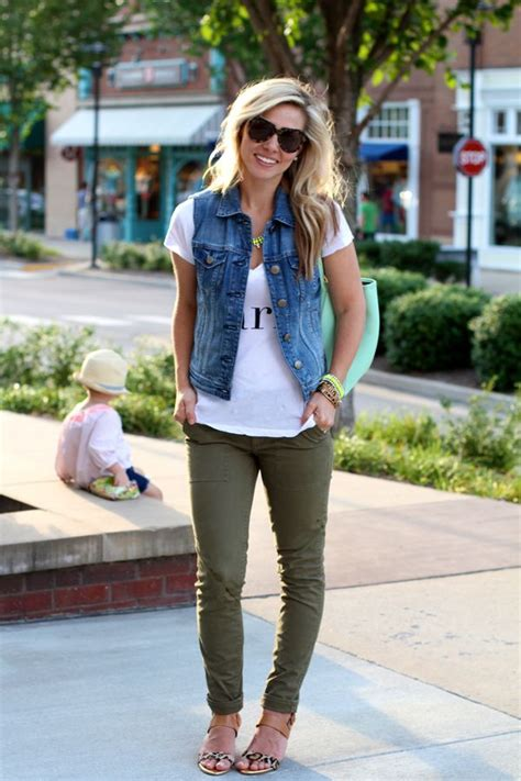 Cute outfits with green pants - Pant Olo