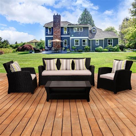 outdoor lounge furniture for patio the home depot