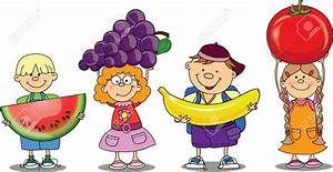Fruit clipart person - Pencil and in color fruit clipart ...