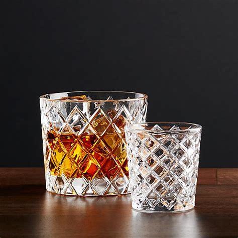 Crate And Barrel Barware - hatch glasses crate and barrel