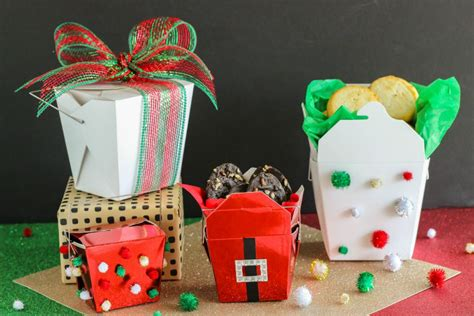 christmas gift containers cookie gift ideas food containers
