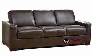Rubicon b534 leather queen by natuzzi is fully for Natuzzi sectional sleeper sofa