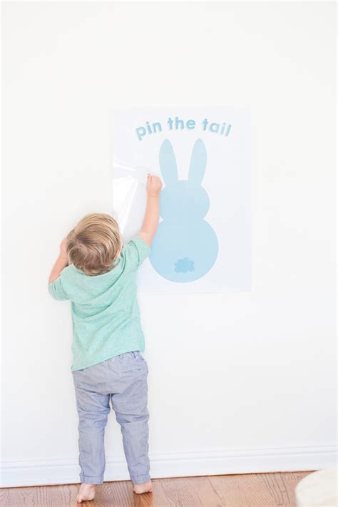 Pin The Tail On The Easter Bunny Sugar And Charm Sweet