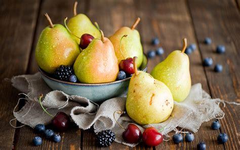 Fruits Berries Pears Cherries Blackberries #7014958