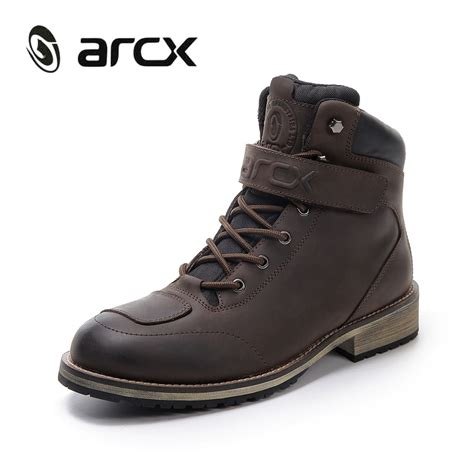 lightweight motorcycle boots mens shoes arcx motorcycle boots mens leather boots riding waterproof