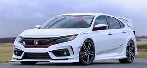 Honda Type R 2018 : 2018 honda civic type r super aggressive prototype at paris motor show ~ Melissatoandfro.com Idées de Décoration