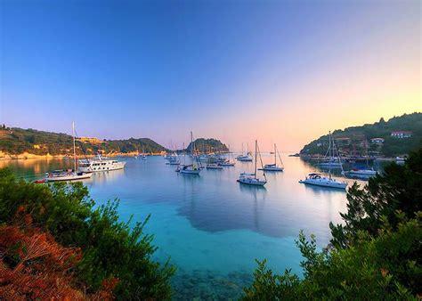 Paxos and Antipaxos islands south of Corfu - atCorfu.com