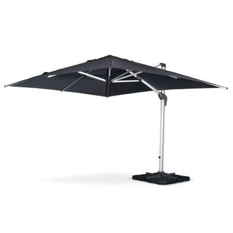 parasol pied deporte rectangulaire am 233 nagement de jardin