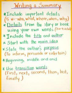 nonfiction summaries images  grade reading