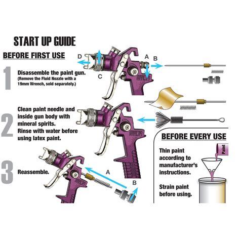 Gravity Feed Spray Gun - 20 Oz. HVLP