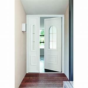 porte d39entree pvc mouluree haute qualite grosfillex With porte de garage enroulable avec porte d entrée pvc lapeyre