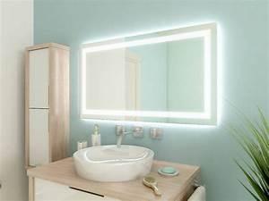 Beleuchtung Für Badspiegel : badspiegel mit led beleuchtung nessa ~ Markanthonyermac.com Haus und Dekorationen