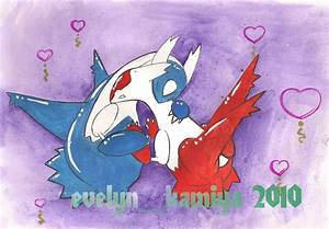 Latios and Latias - pokemon by EvelynStrix on DeviantArt