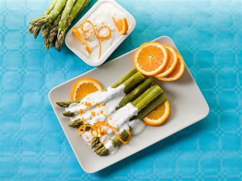 mousseline en cuisine recette asperges vertes en mousseline à l orange