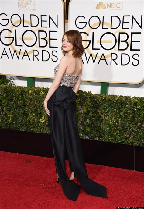 Emma Stones 2015 Golden Globes Pantsuit Is A Fashion Girl