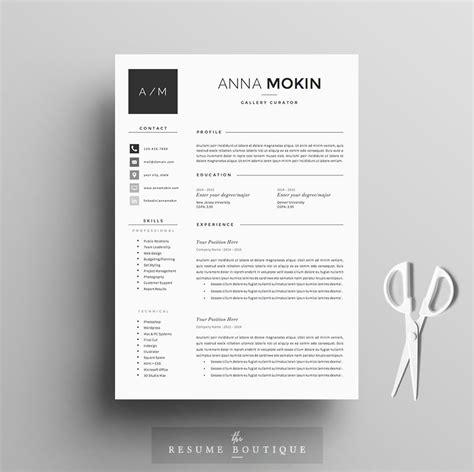 resume template  page pack smoke resume templates