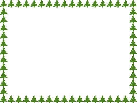 christmas tree border clip art clipart best