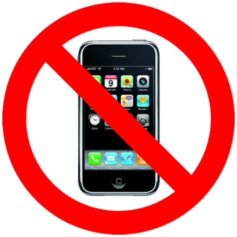 do not call cell phone no phones or ipods le marchant st school
