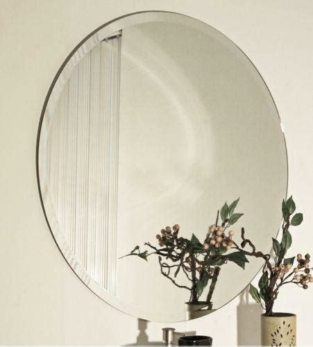 frameless beveled wall mirrors ebay