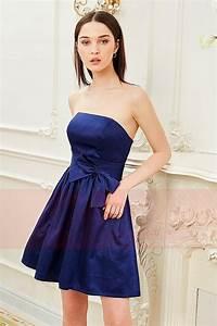 robe bustier bleu roi avec un joli noeud papillon sur la With robe de cocktail combiné avec acheter un bracelet
