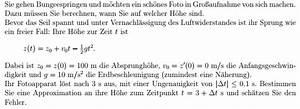 Zentrifugalkraft Berechnen : analysis analysis absprungh he anfangsgeschwindigkeit ~ Themetempest.com Abrechnung
