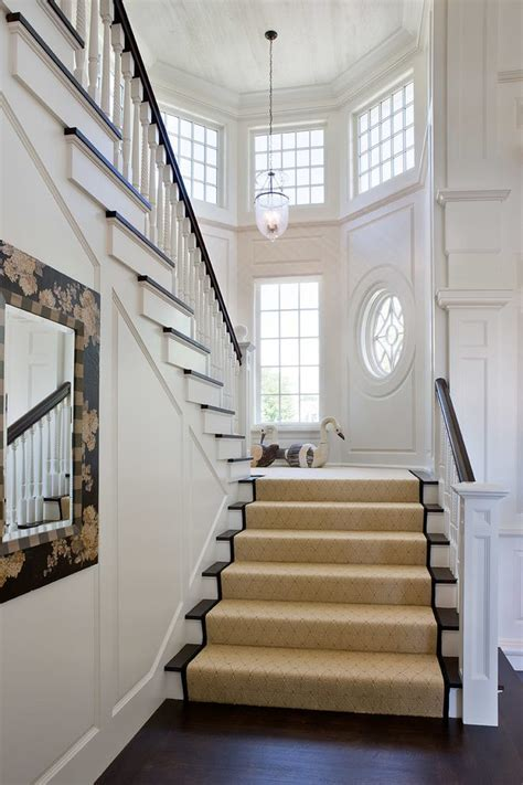 Imaginative White Staircase Rustic with Wood Paneling